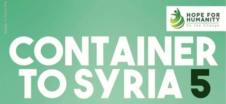 Container to Syria